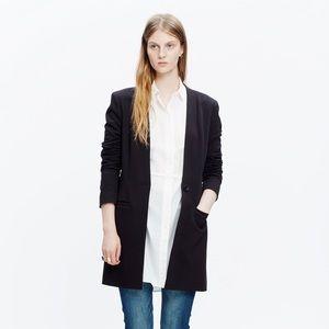 Madewell Black Venice Blazer Coat